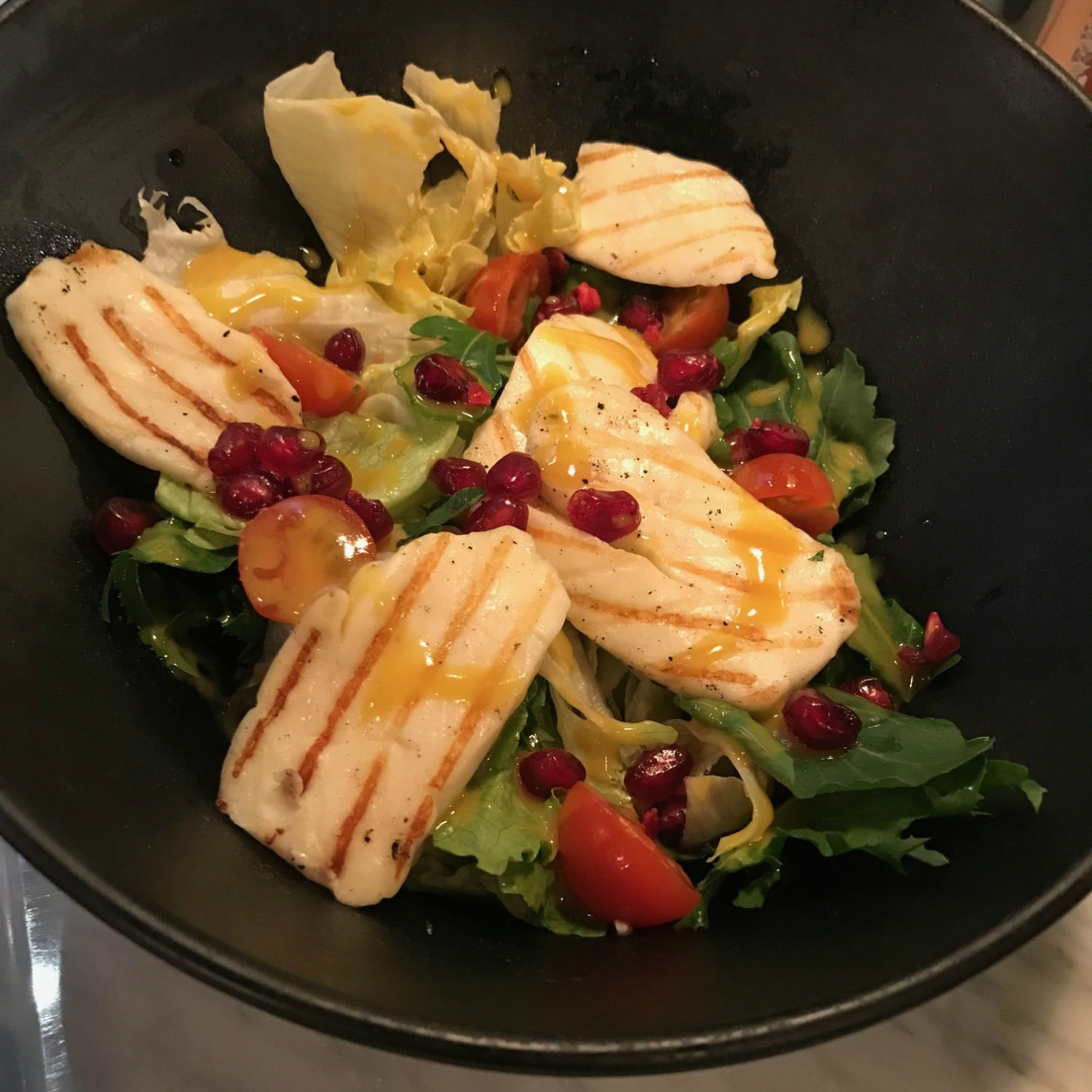 The salad menu at Street Burger is masterminded by Hassan bin Ali, who works for the first vegetarian Michelin star restaurant in New York