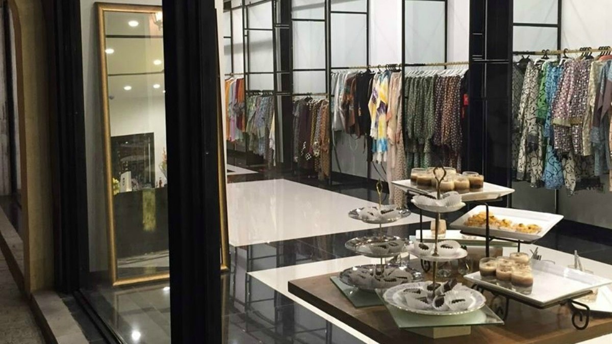 Feeha's flagship store that has now been shut down