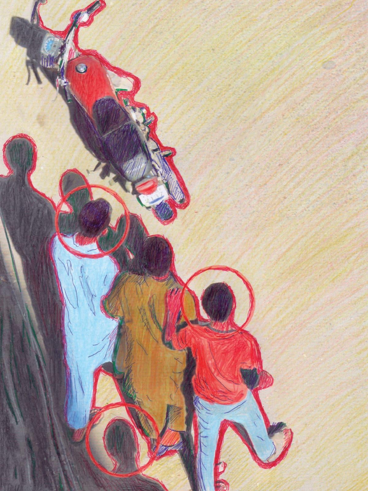 Untitled   Mohammad Ali Talpur (mixed media)