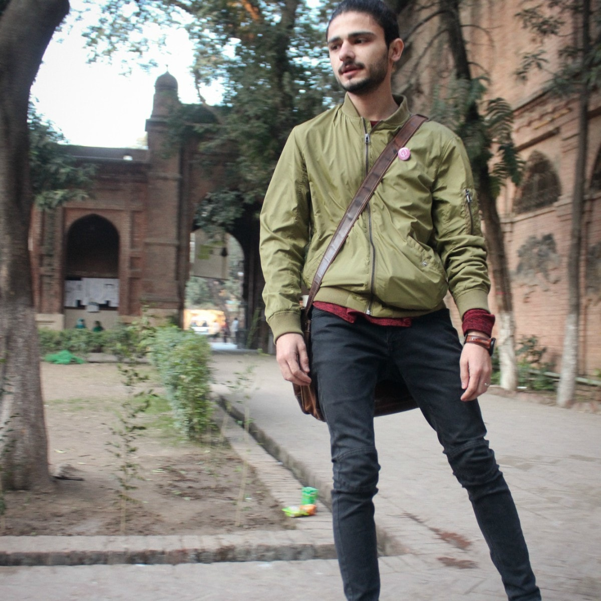 Bombers are a double threat: stylish AND comfortable. —Photography by Ayaz Mangi