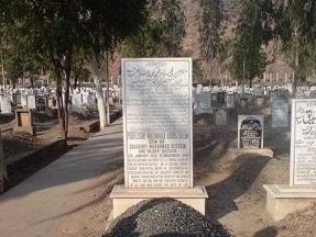 Abdus Salam's grave. — Imran Gabol