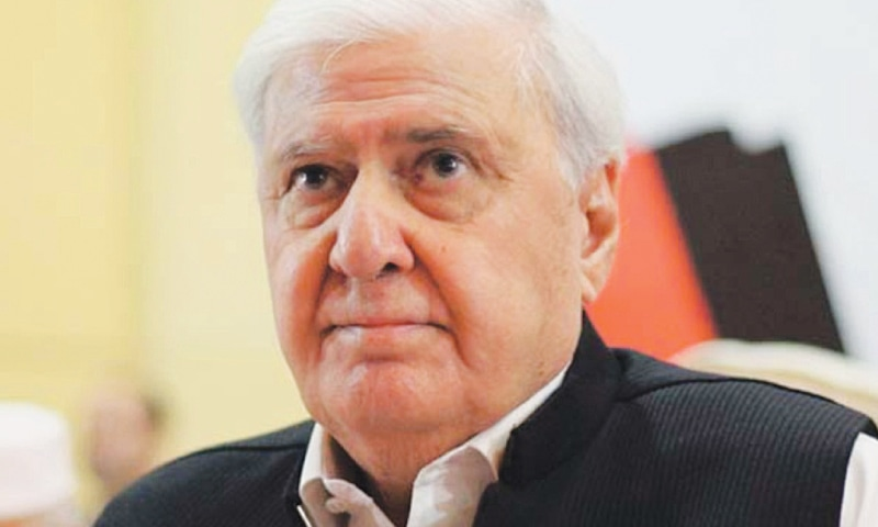 Voices of open and muted dissent: Aftab Sherpao