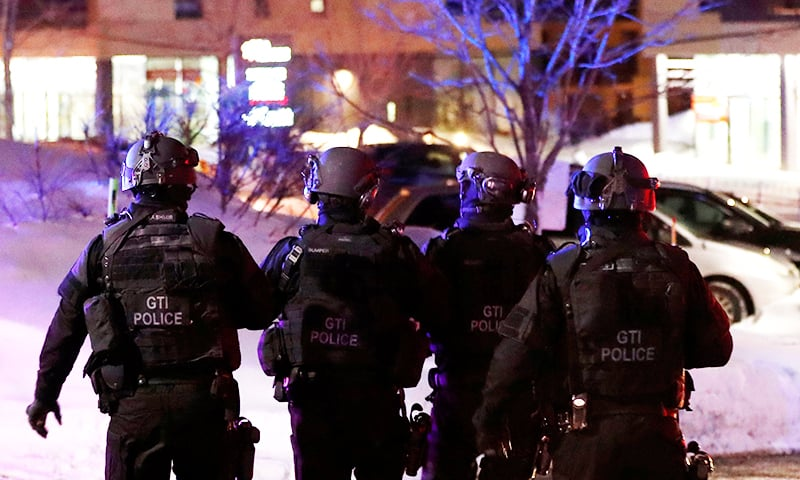 6 killed in mosque shooting in Canada's Quebec