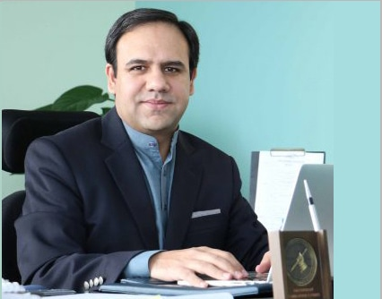 Dr Umar Saif, chairman of Punjab Information Technology Board.─Photo courtesy MIT Technology Review Pakistan