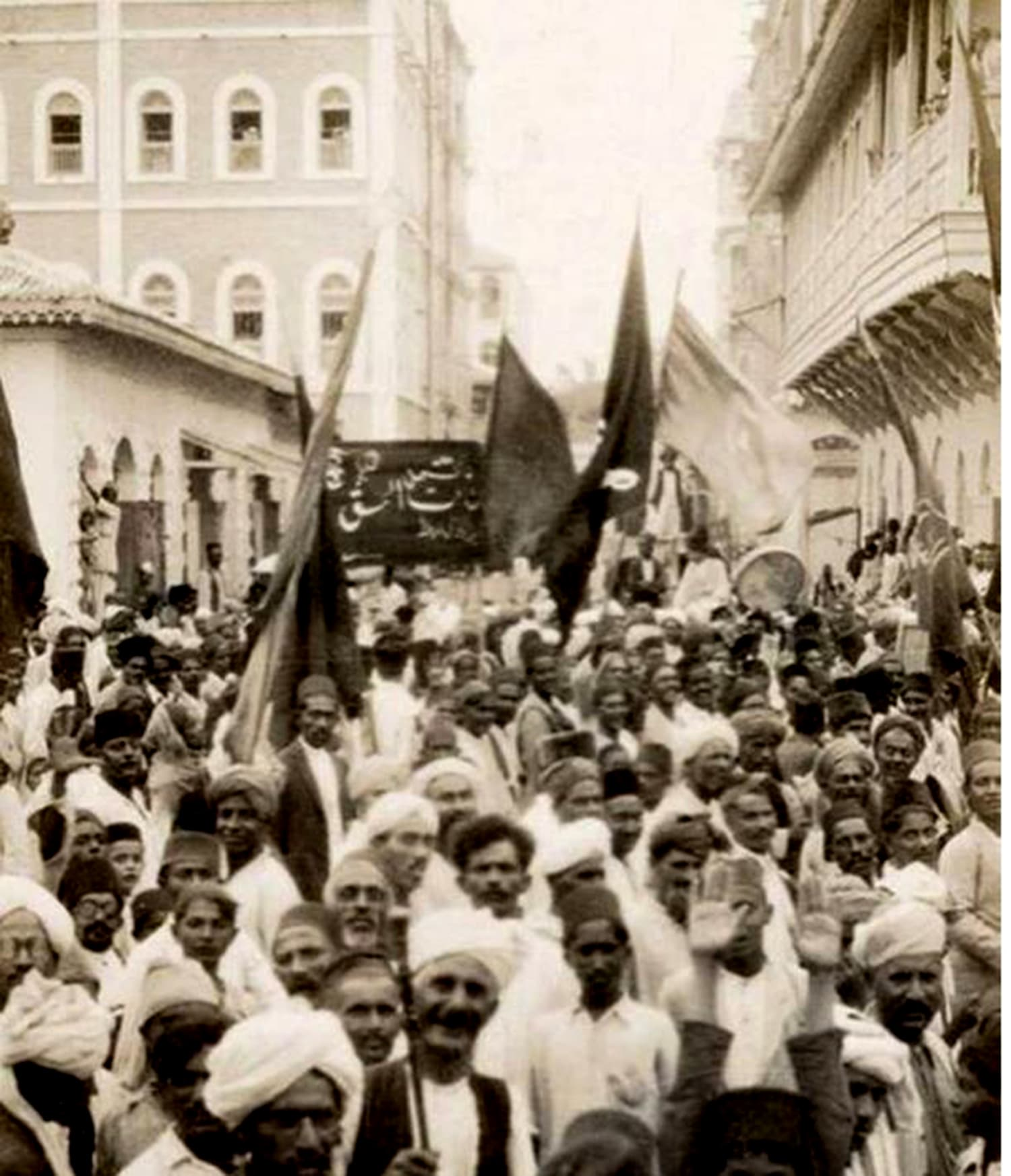 Eid Miladun Nabi procession in Lahore in the 1930s.