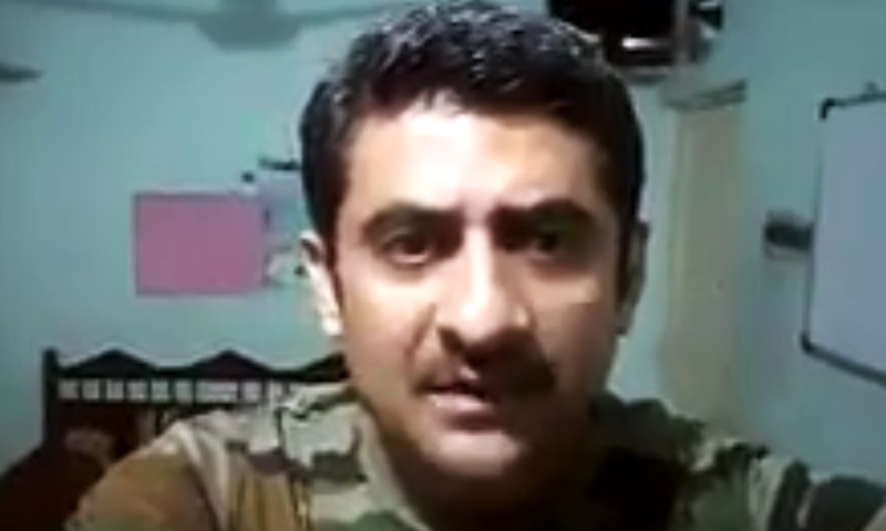 Indian soldier blasts retired general for terming complaints about army a 'mutiny'