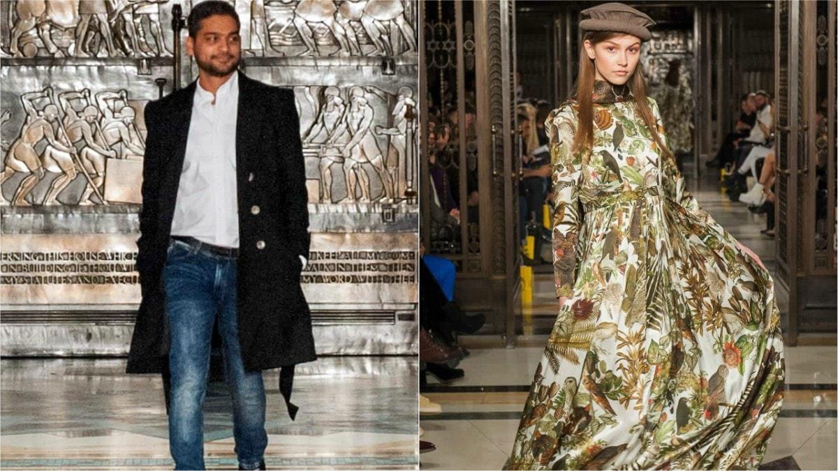 Zaheer Abbas at London Fashion Week 2016 (L)