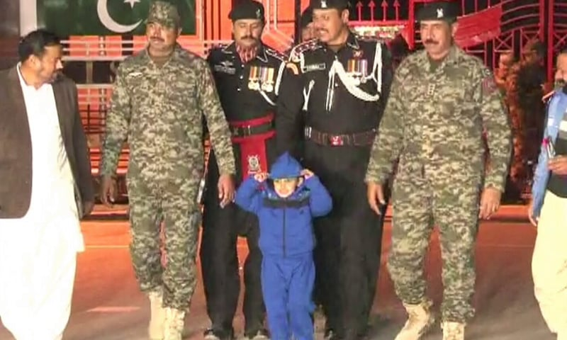 4-year-old trafficked by father to India returns to Pakistan