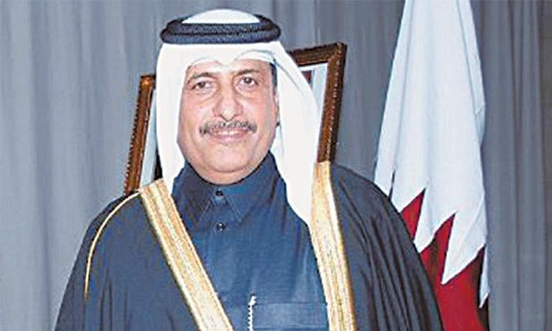 Qatari ambassador to Pakistan Saqr bin Mubarak Al-Mansouri