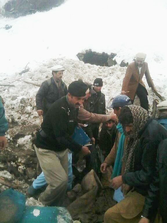 Rescue operations are ongoing in Chitral. ─ DawnNews