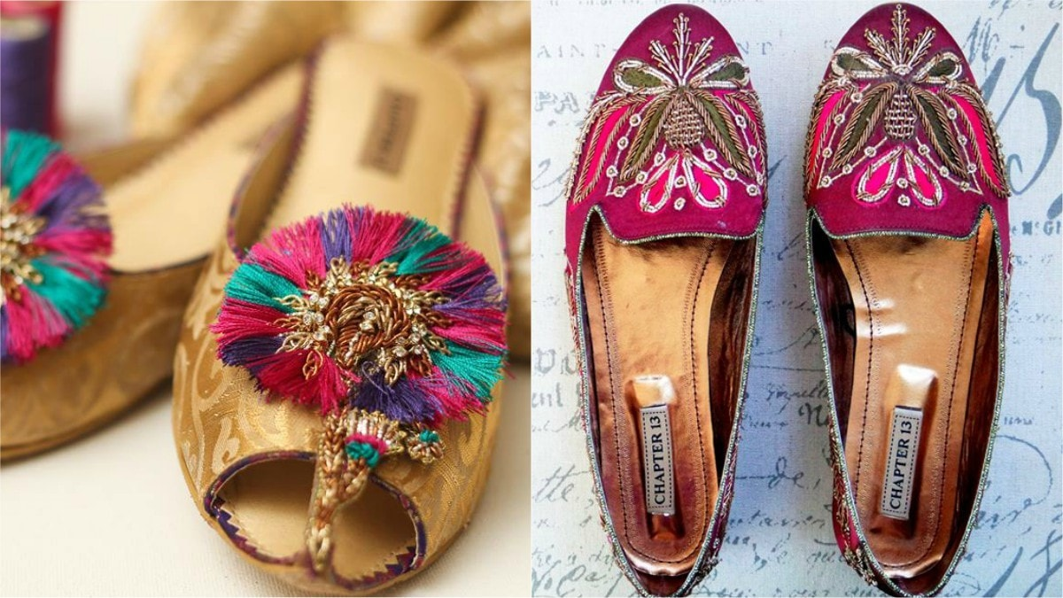 We especially love their bedazzled flats (R)