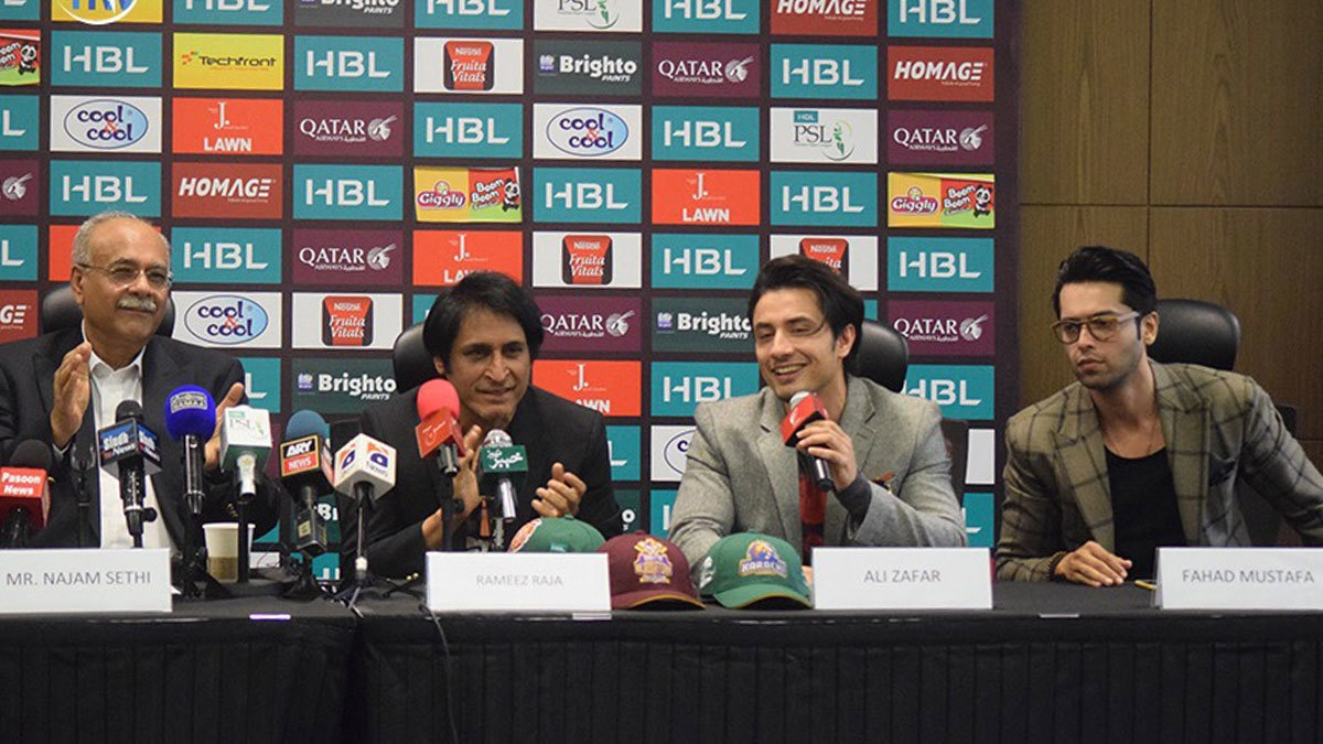 Shaggy, Ali Zafar and Shehzad Roy kick off PSL festivities at Dubai press conference