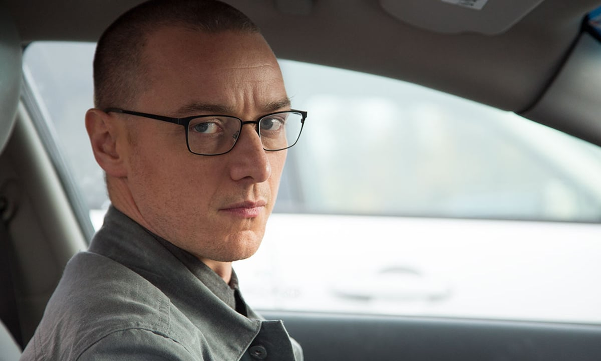 James McAvoy stars as Kevin Crumb