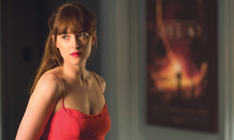 ACTRESS Dakota Johnson in a scene from film, Fifty Shades Darker.—The Washington Post