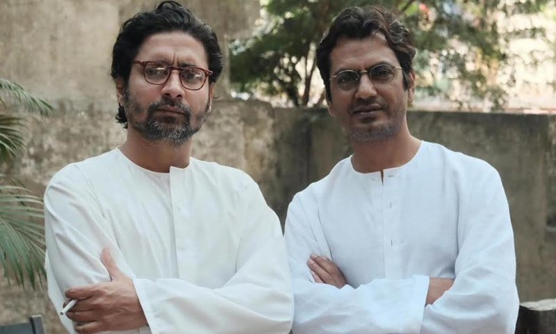 نوازالدین صدیقی اور چندن روئے سنیال ایک ساتھ —فوٹو بشکریہ/ ہندوستان ٹائمز