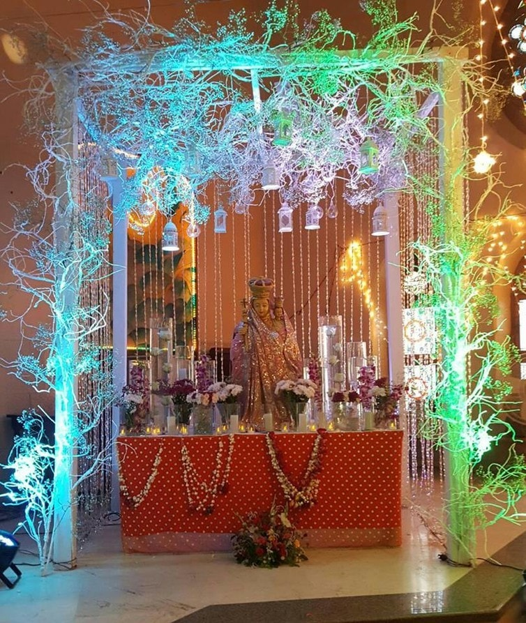 Nativity prepared by devotees in Karachi. D.Fernandes, Author provided.
