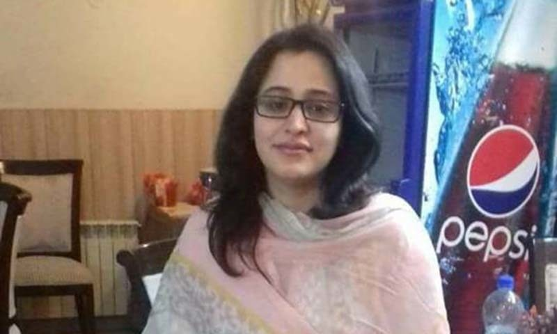 NGO worker Hina Shahnawaz was killed by unknown assailants on Feb 6. ─Photo courtesy: Facebook
