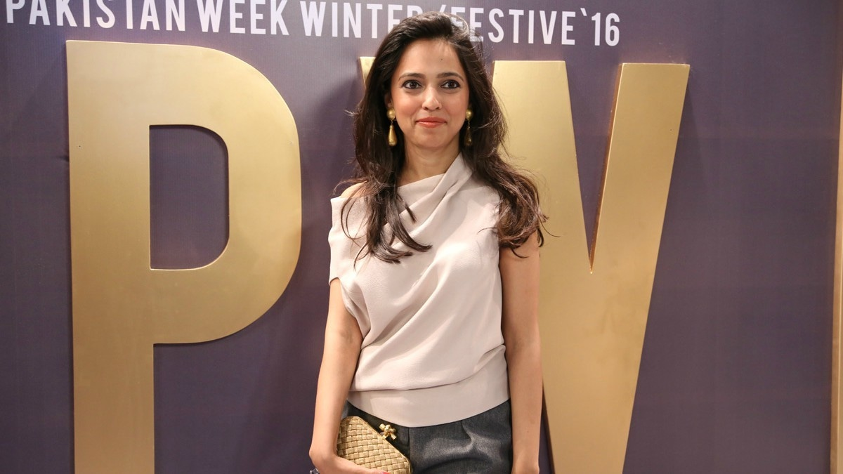 Nida Azwer at last year's FPW