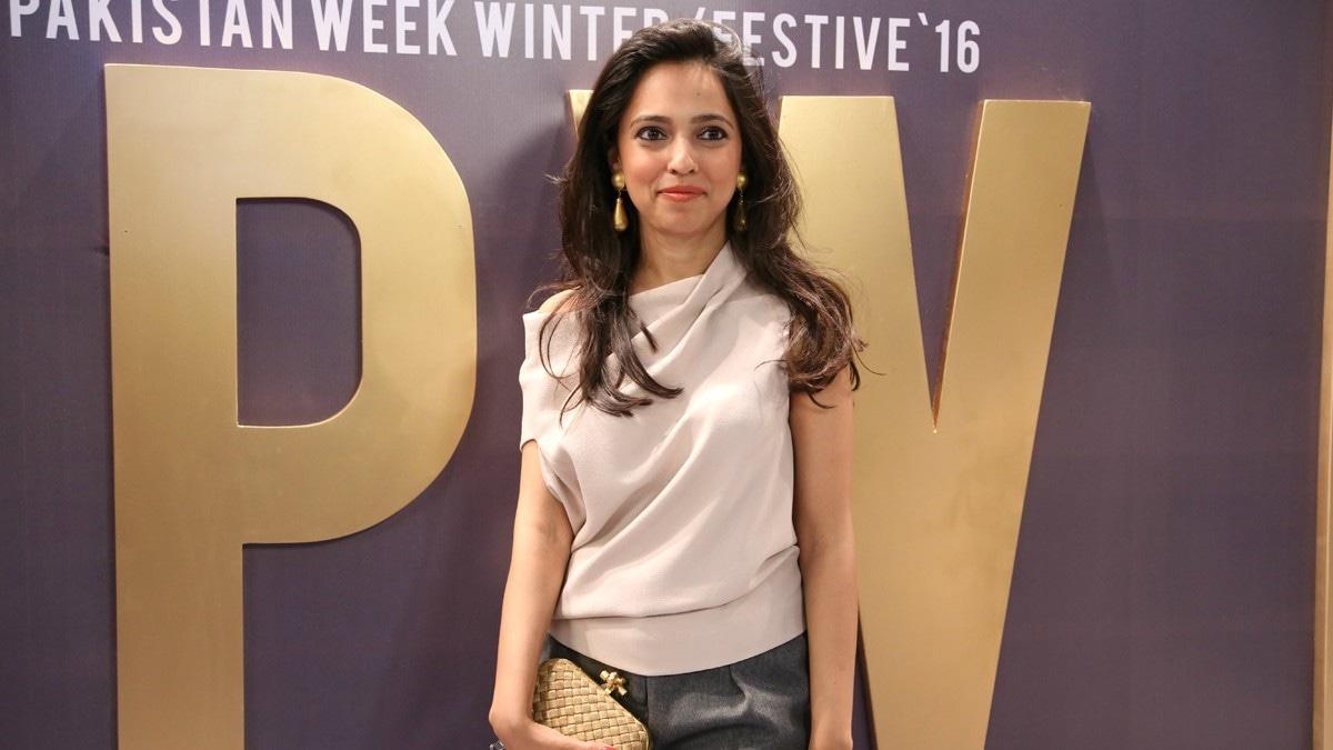 Nida Azwer at last year's FPW