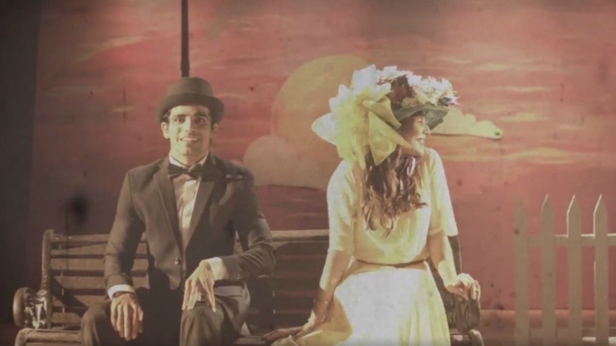 Kashif Hussain and Zoe Viccaji