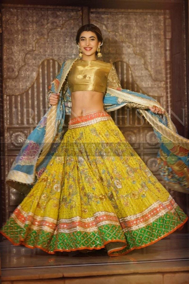 Urwa Hocane also wore Ali Xeeshan to her sangeet party