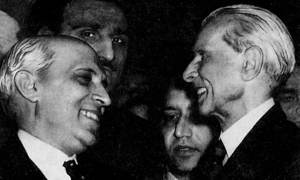 Muhammad Ali Jinnah and Jawaharlal Nehru in London | White Star Archives