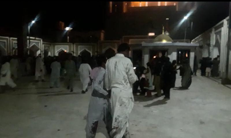 Scene from inside the shrine. -DawnNews