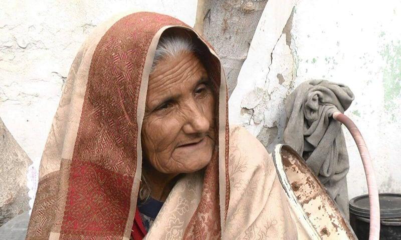 Safia bibi, Razzaq's mother. — Photo by Muhammad Akbar Notezai