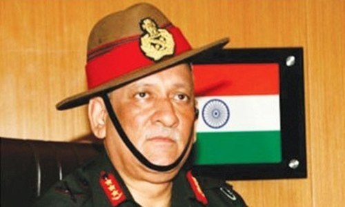 Indian army chief's threat against Kashmiris angers many