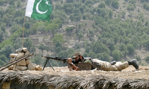 Army to act against terrorists across border, Dar tells Senate