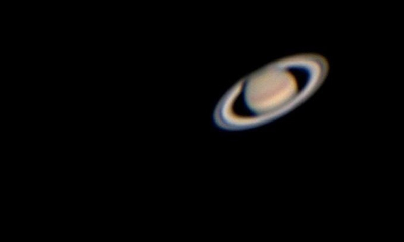 A view of Saturn captured using Scoop.— Dr Muhammad Akbar Hussain