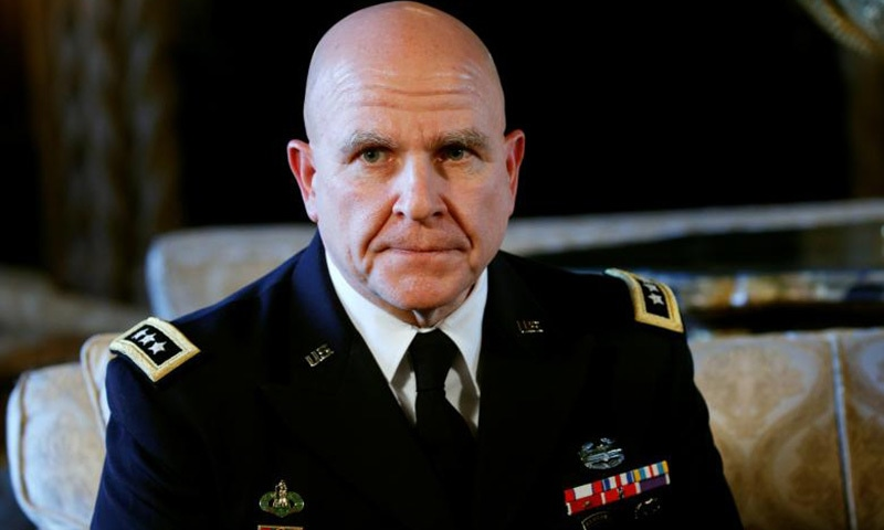 McMaster to replace Flynn as Trump's national security adviser