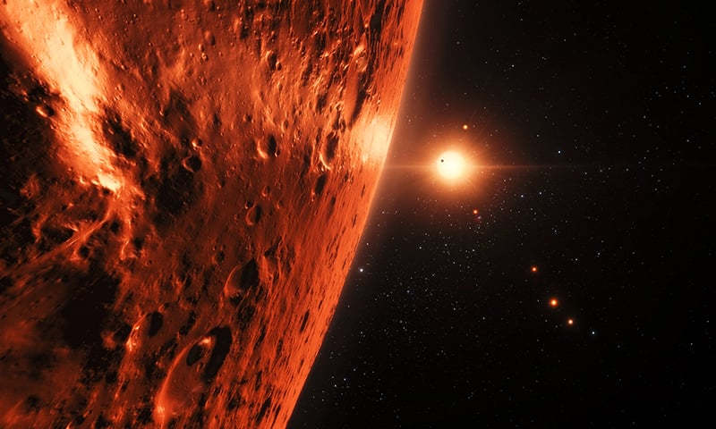 Seven Earth-like planets discovered around single star