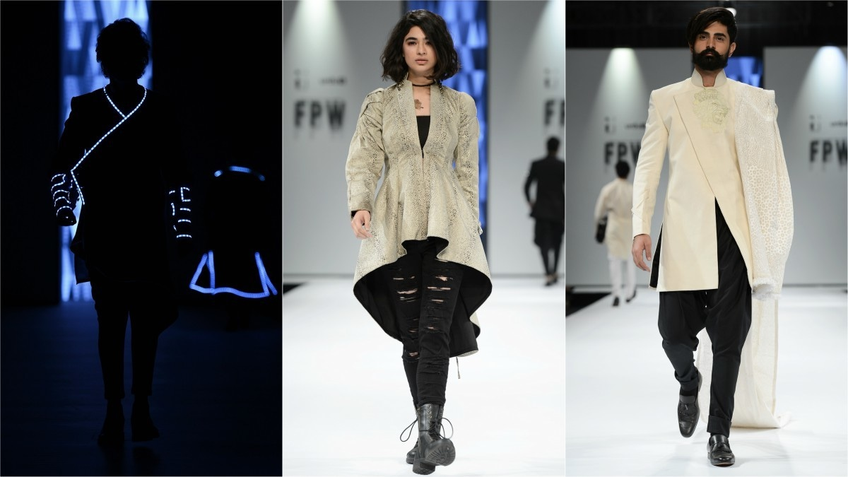 For a collection called 'Wild Wild Vest', the clothes were quite tame