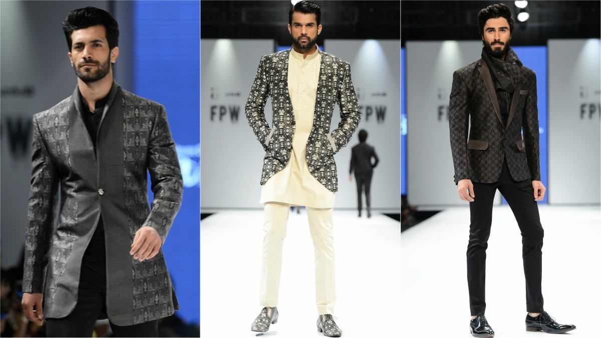 It made no sense why Arsalan Iqbal's collection was so heavily geared towards winter