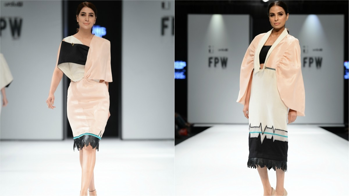 Areej Iqbal stuck to pastels and dreamy ensembles with a slight edge