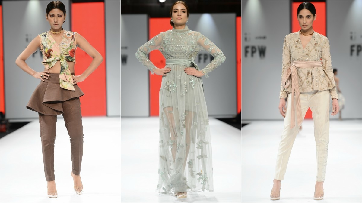 Tena's collection will fare well off the runway but there was nothing new to it