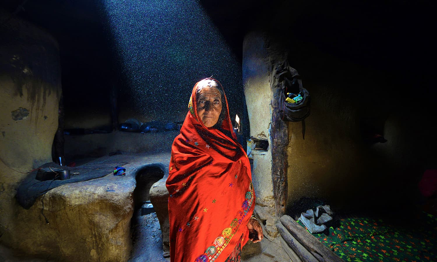 A local woman in Ishkarwaz.