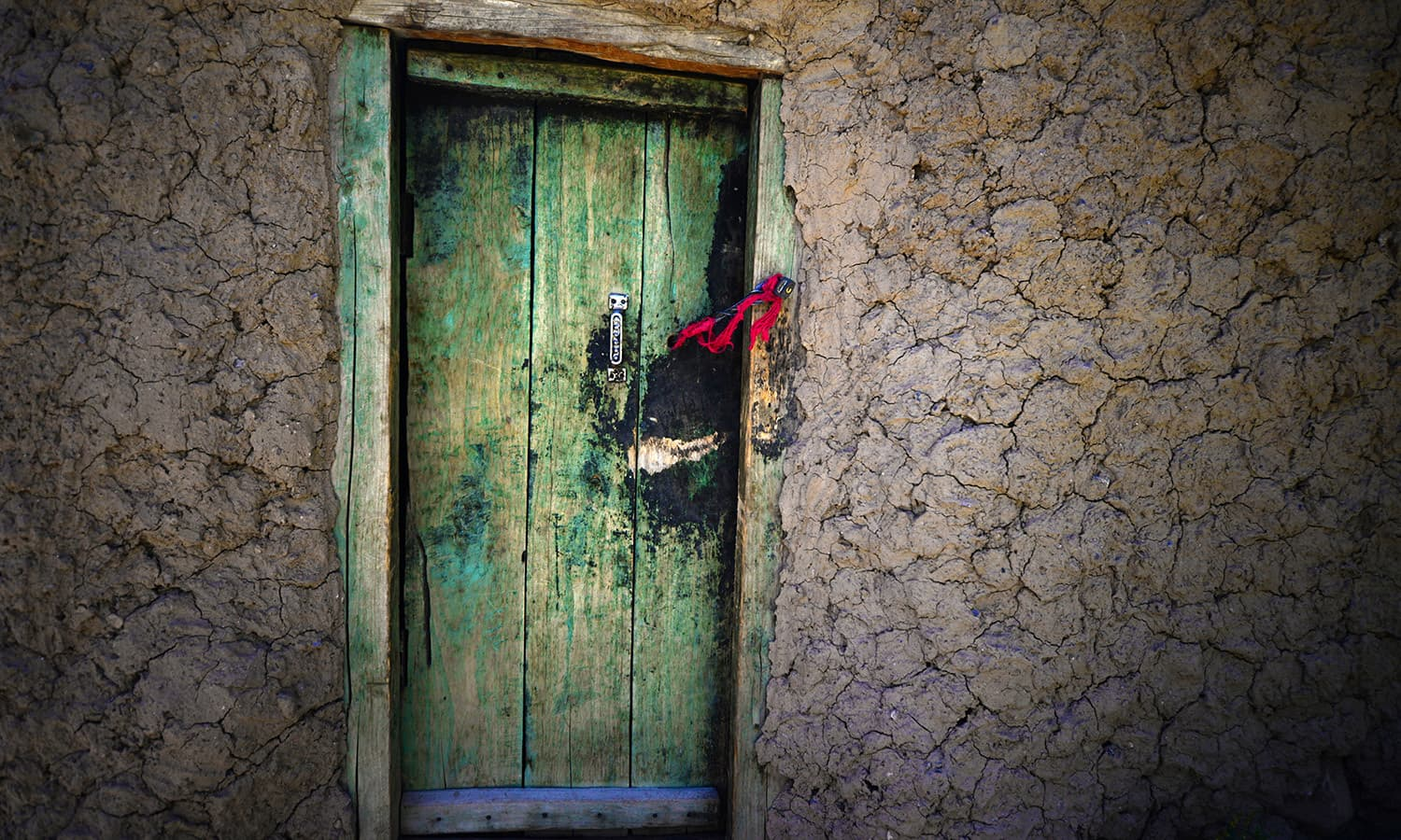 A door of a Pamiri house in Ishkarwaz.