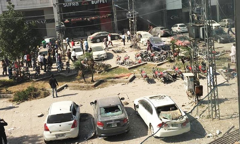 10 killed in explosion in Lahore's Defence area