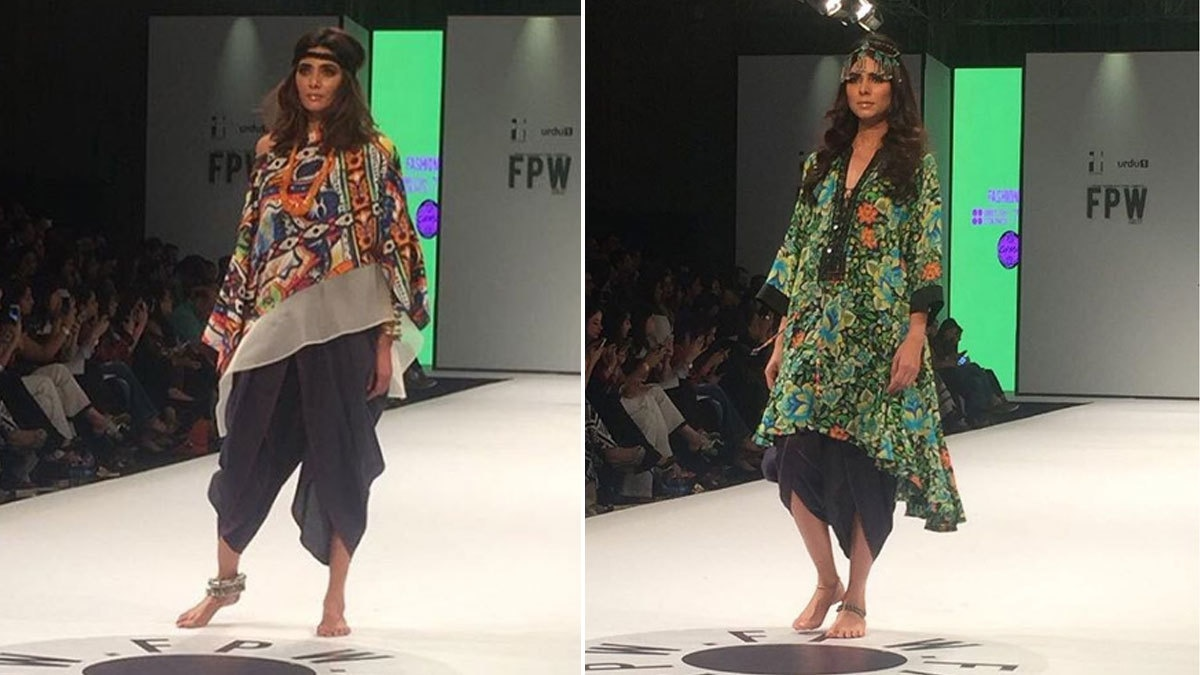 Gulabo added a much needed pop of colour on the runway with fun and quirky designs. Photo: Instagram/Fashion Pakistan Official
