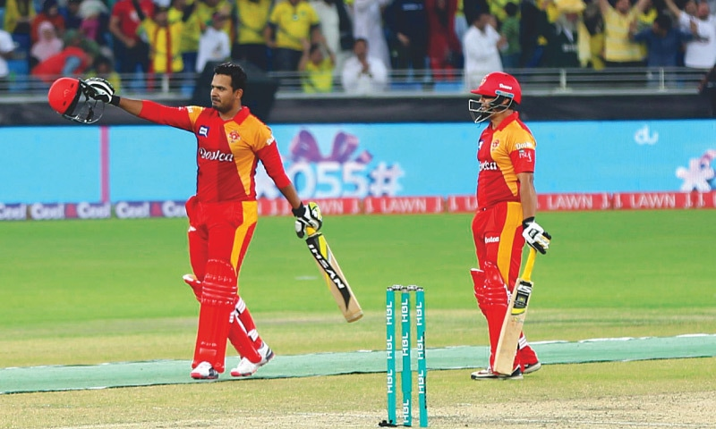 The tainted duo Sharjeel Khan (L) and Khalid Latif
