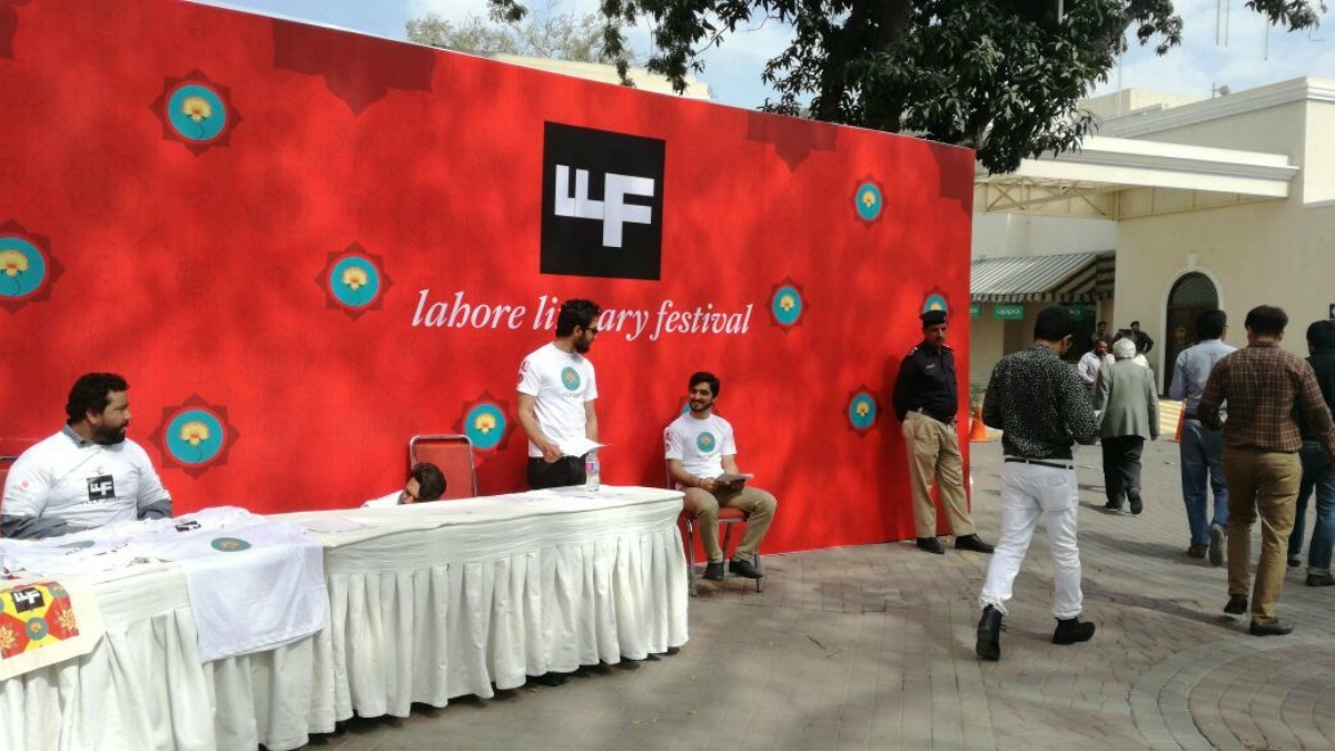 We're live at the Lahore Literary Festival. Here's what you need to know