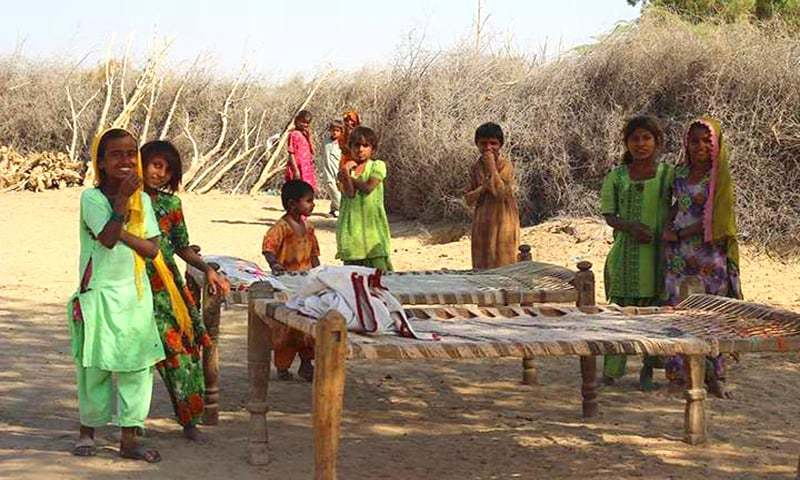 Thari villagers fight to prevent state acquisition of ancestral land