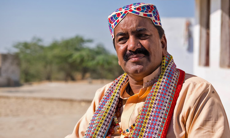Mohammed Shafi Faqir, the Sufi singer of Umerkot.