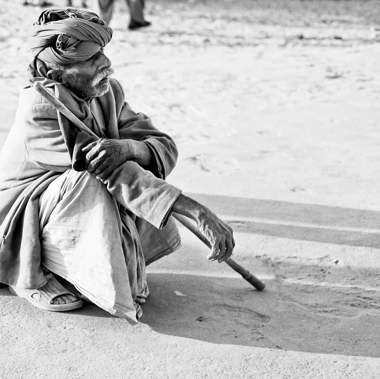 The serene mood of a desert dweller.