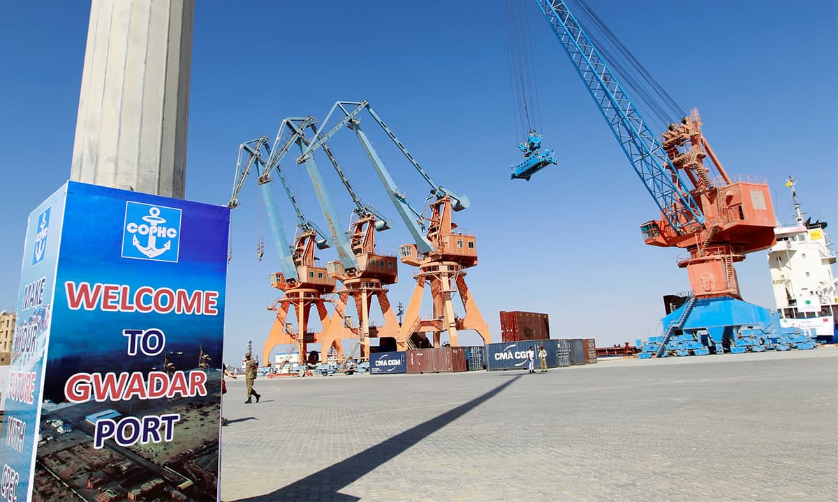 A general view of Gwadar Port ahead of its inauguration | REUTERS