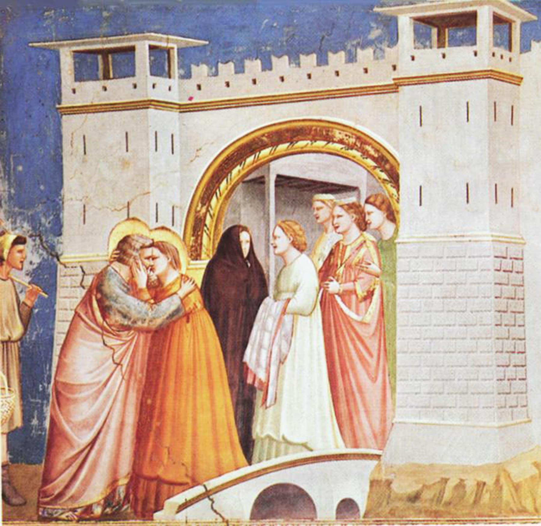 حضرت عمران (مریم علیہ السلام کے والد) اور ان کی اہلیہ حنہ کی زندگی  کے حالات و واقعات پر جاٹو کے نقوش