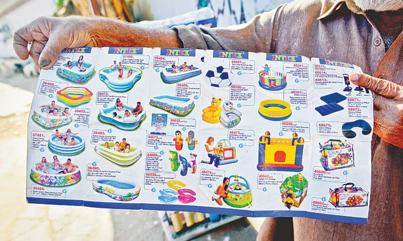 A catalogue of inflatable things.