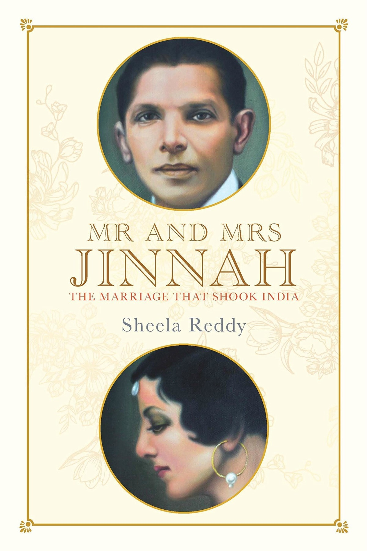 The cover of Mr and Mrs Jinnah by Sheela Reddy